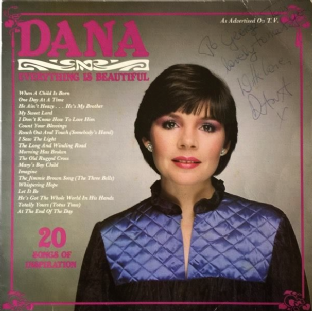 Dana ‎- Everything Is Beautiful (LP) (Signed) (VG-/G+)
